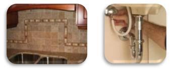 Countertop and Tile Back-Splash Installation in Alpharetta GA