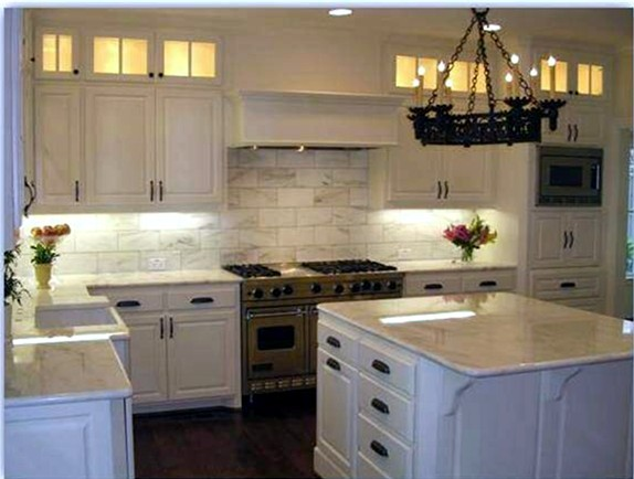 Discount Marble Countertops and Slabs Kitchen Design in Metro Atlanta Georgia