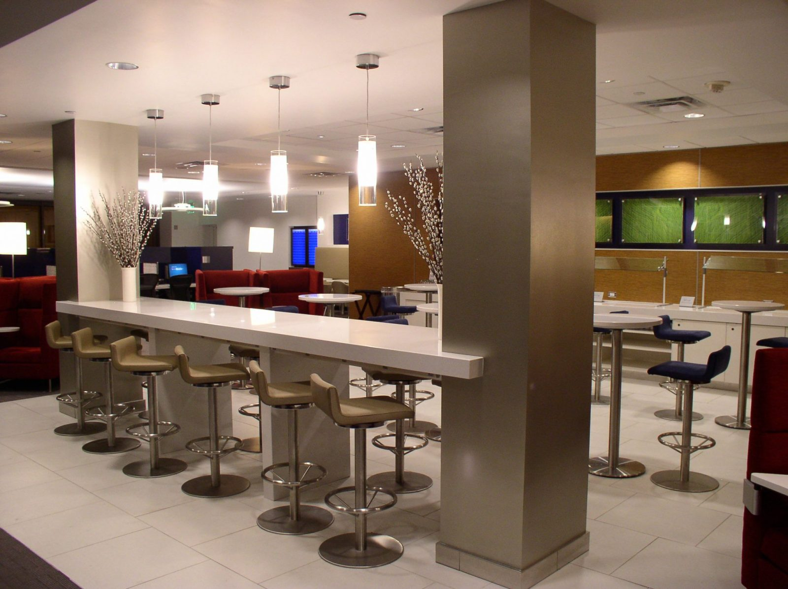 Lobby Countertop in a Commercial Setting