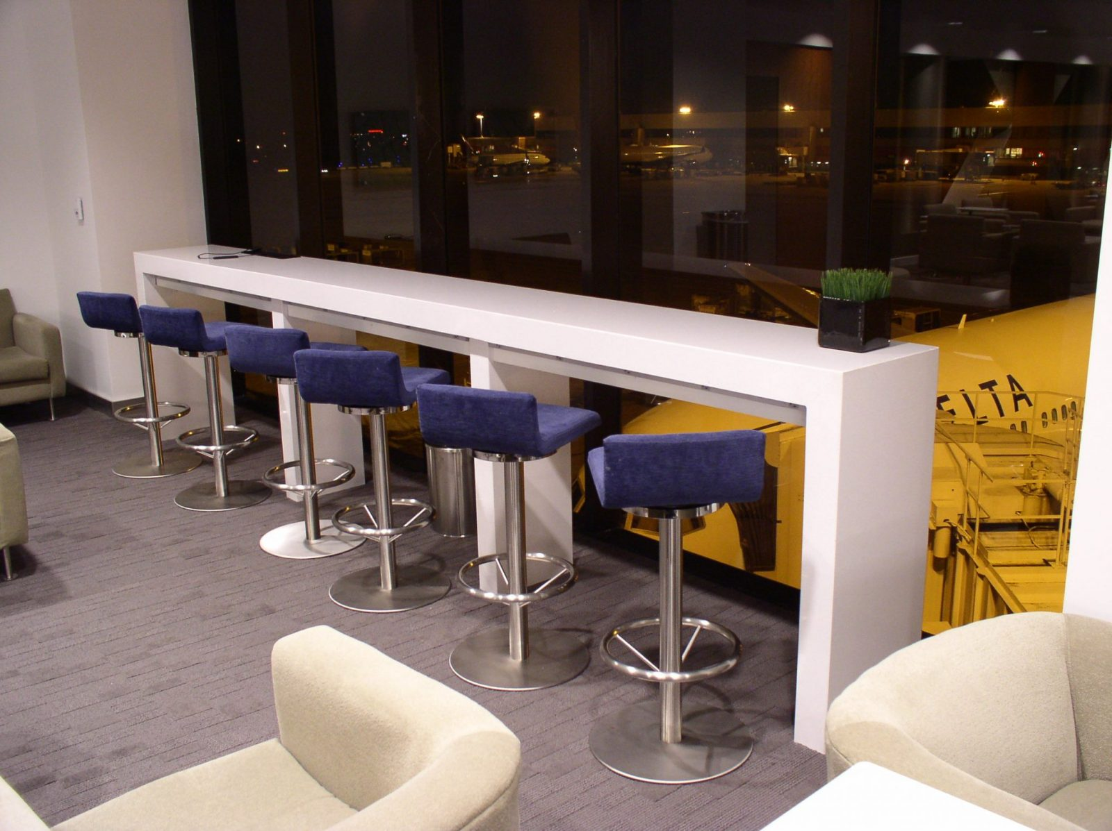 Commercial Countertop Airport Counter