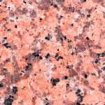 Big Flower Pink Granite Countertop Atlanta