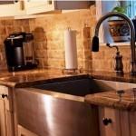 Farmhouse Sink Granite Countertops