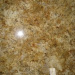 Gold, Yellow and Cream granite countertops