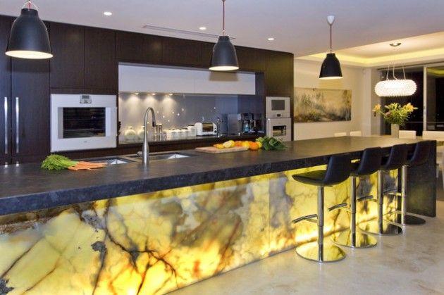 onyx kitchen countertop