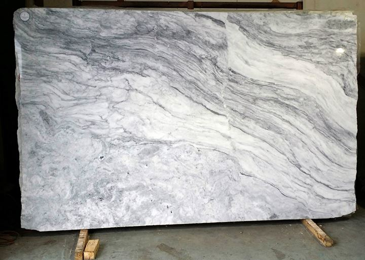 White Princess Quartzite Contemporary Kitchen Aidan Design