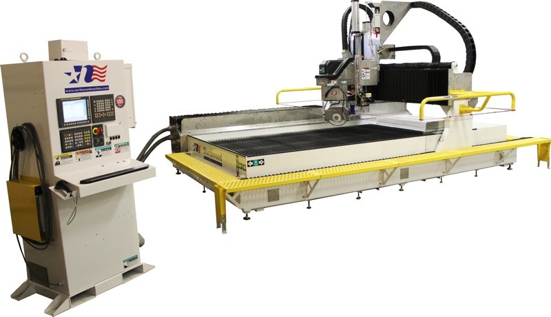 Single Table 270 SawJET - Waterjet + CNC Saw Combo with Fanuc Controls