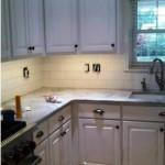 Super White Marble Kitchen