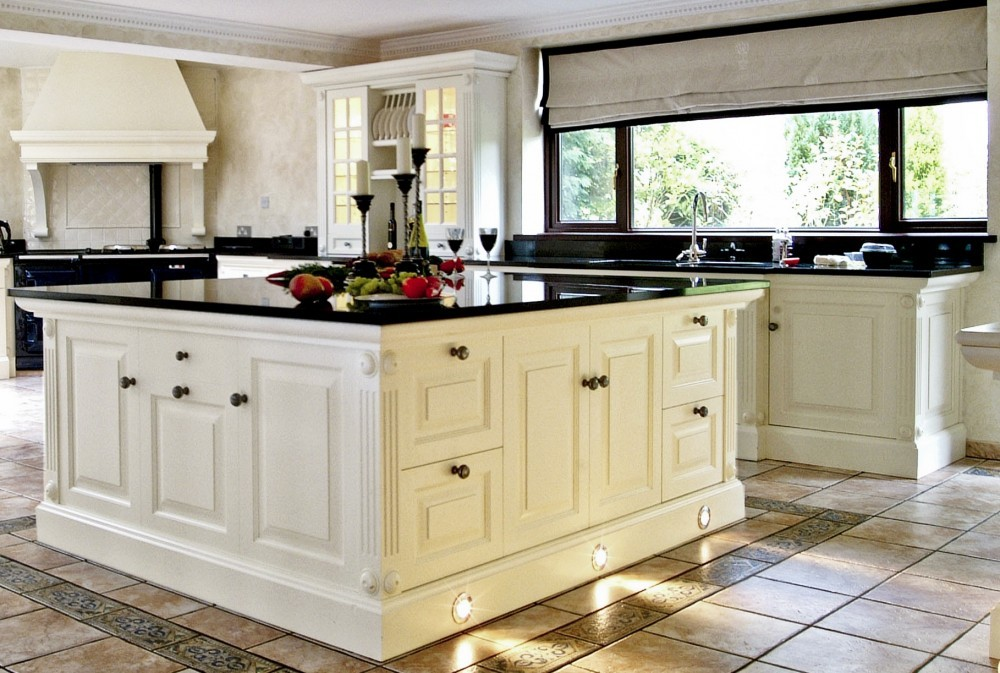 White on white is a popular colour scheme for bathroom designs this - Black Granite Countertops