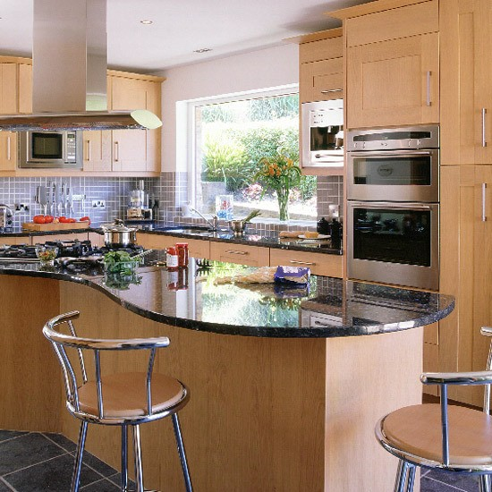 Blue Granite Countertops kitchen Design in Atlanta GA, Atlanta Georgia