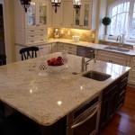 Warm and inviting Crema Bordeaux kitchen