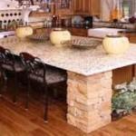 Modern Kitchen Granite Countertop