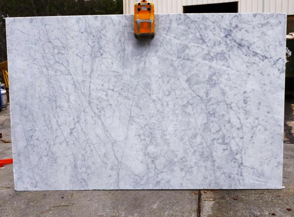 Color Spotlight White Carrara Marble Granite Countertop