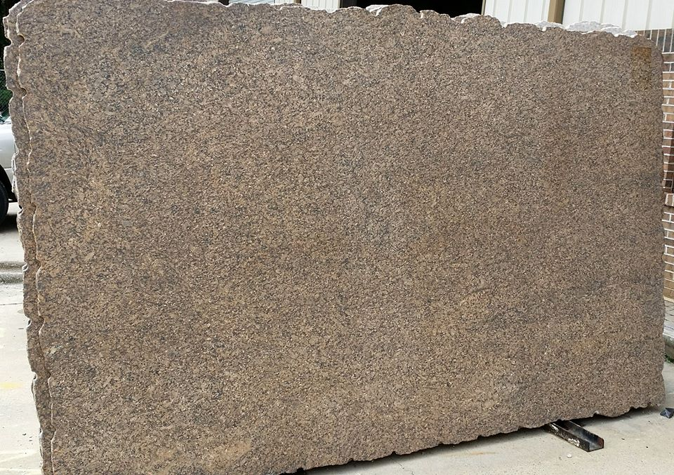 Color Spotlight Giallo Vicenza Leathered Finish Granite