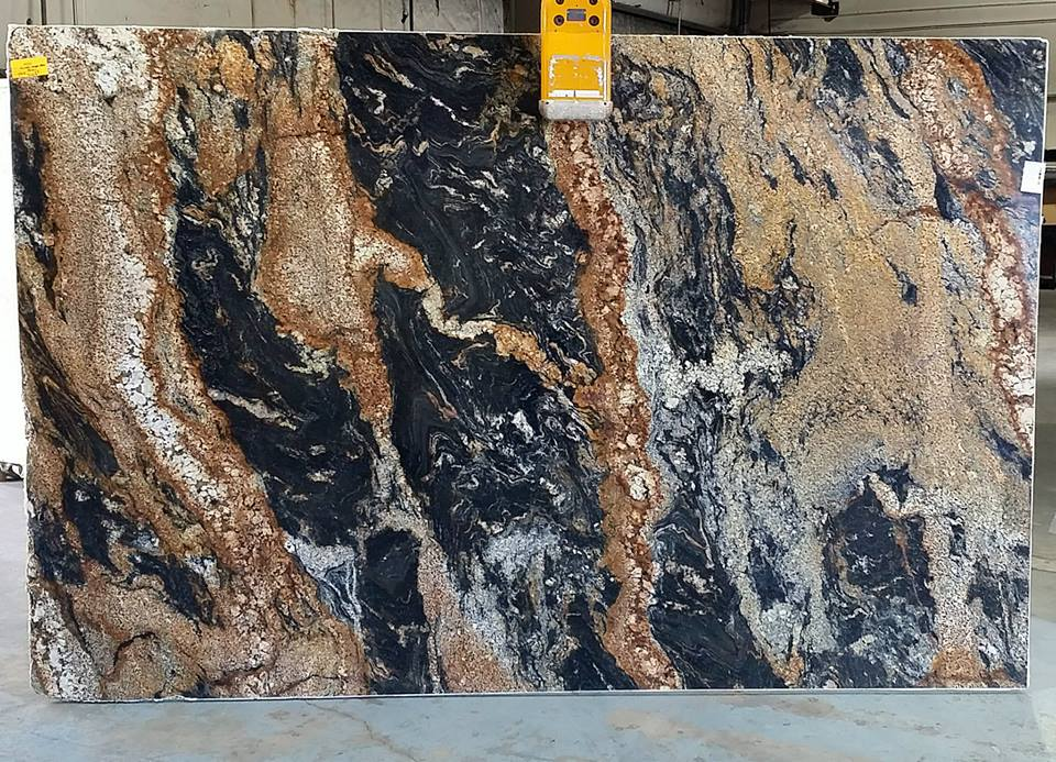 Color Spotlight Magma Gold Granite Countertop Warehouse
