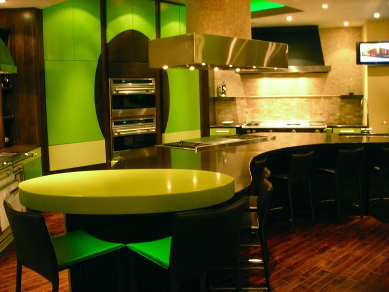 Green Quartz Counters