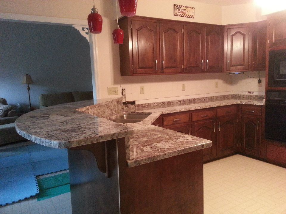 Countertop Warehouse : Granite Countertop Warehouse / News / Recent Project: Before and After ...