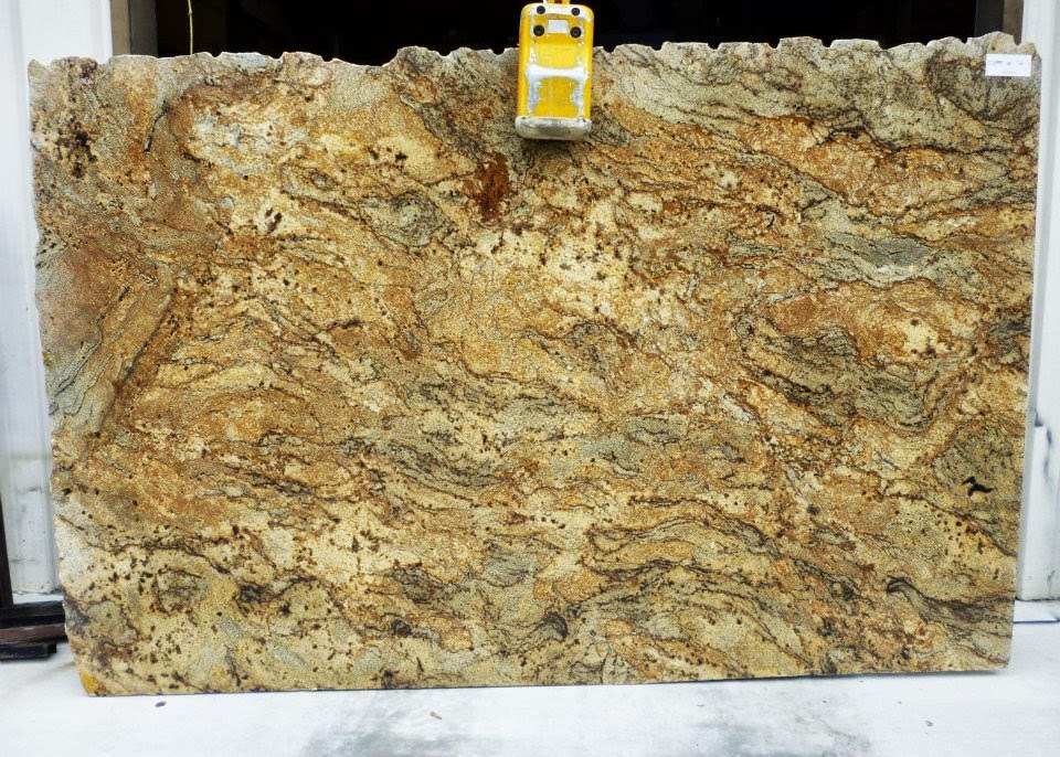 Color Spotlight Golden Crystal Granite Countertop Warehouse