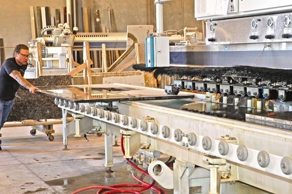 Custom Granite and Marble Fabrication - Granite Countertop Warehouse