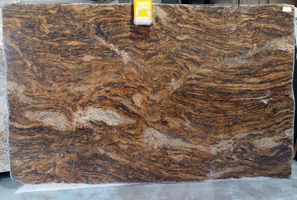 Blue Fire (aka Golden Thunder) Granite Countertop Atlanta