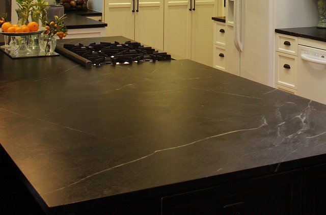 Soapstone Countertops all-natural and can be recycled completely. on