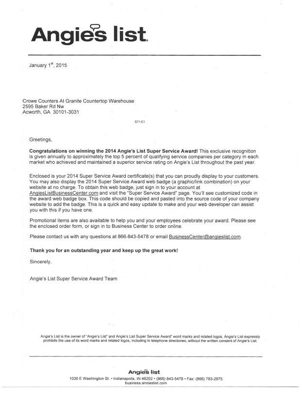 AL-Service-letter
