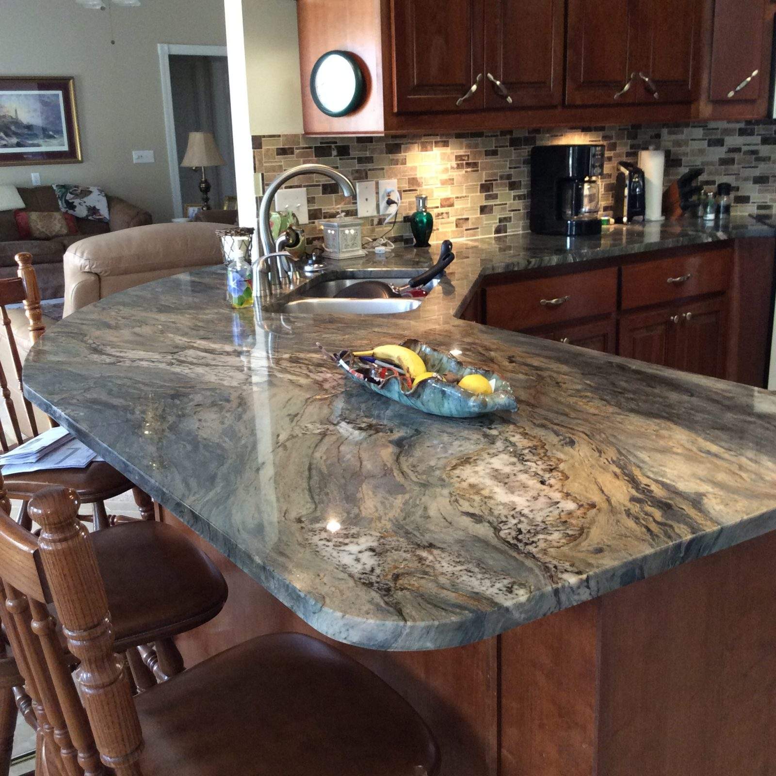 Recent Project New Kitchen Featuring Fusion Quartzite
