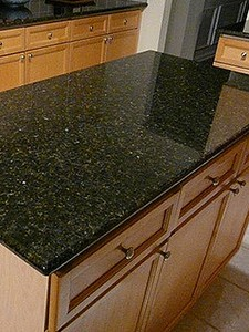 Beautiful Ubatuba Granite Countertops