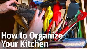 Organize your Kitchen Fast