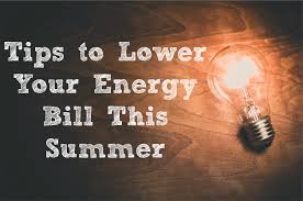 Tips to Lower Your Energy Bill