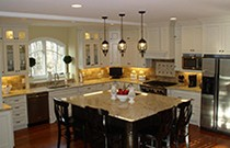 Finished traditional Kitchen