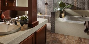 Corian bathroom Countertop
