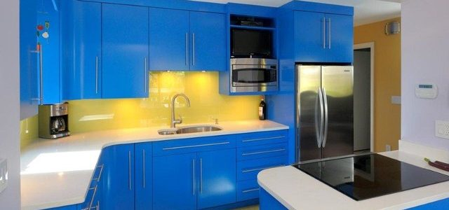 Update a Kitchen with Bright Colors