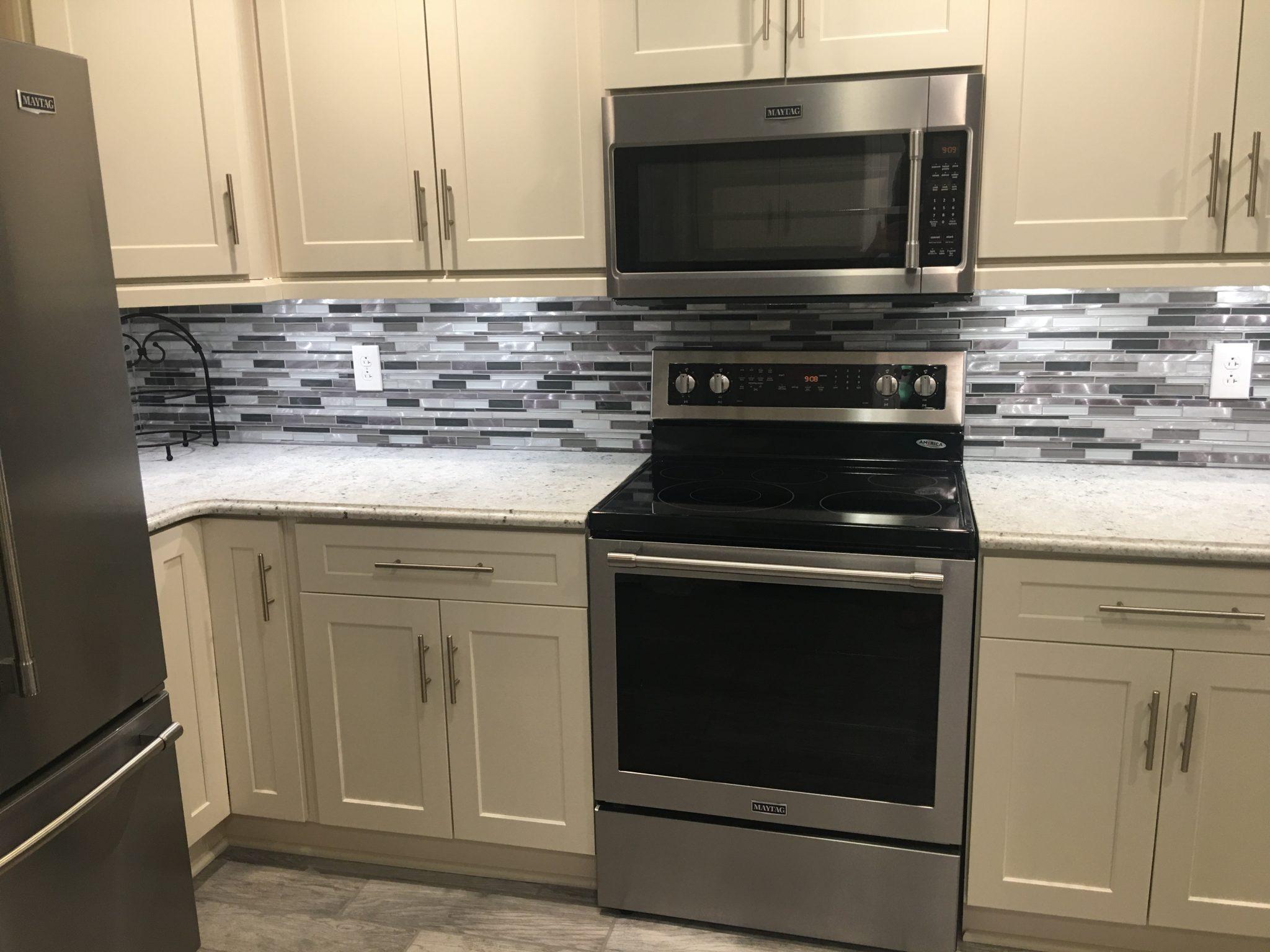 Kitchen Remodel: Colonial White - Granite Countertop Warehouse