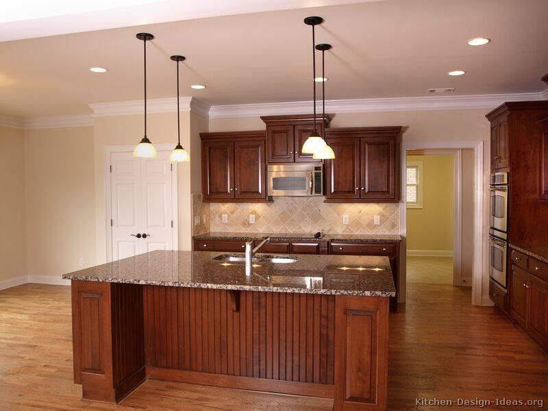 Elegant & Luxurious Cherry-Colored kitchens