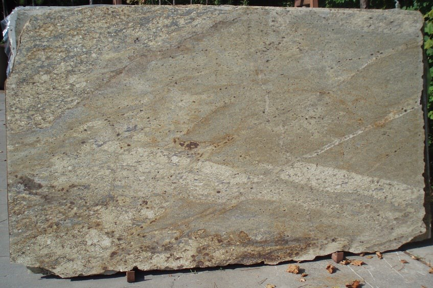 Yellow River Brushed Granite