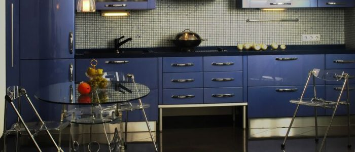 kitchen modern Blue