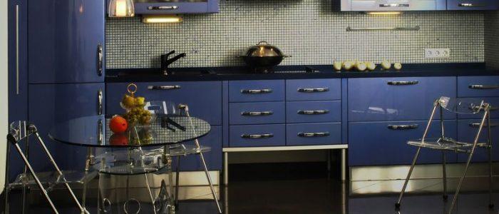 kitchen modern Blue