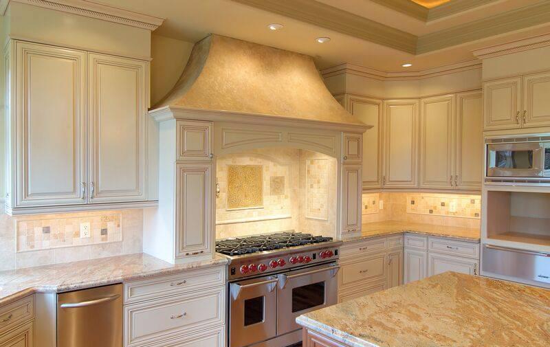 Antique White Kitchens