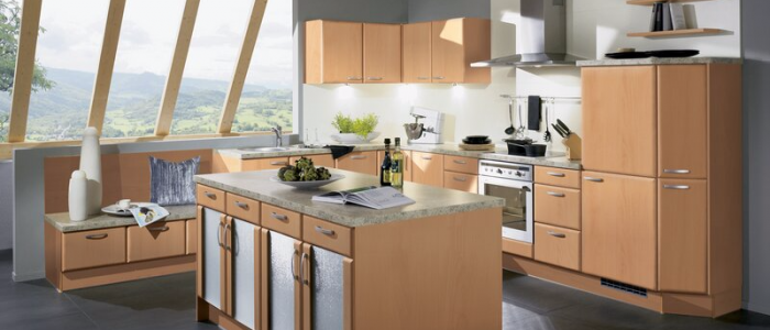 European kitchens tend to be minimalistic and highly functional