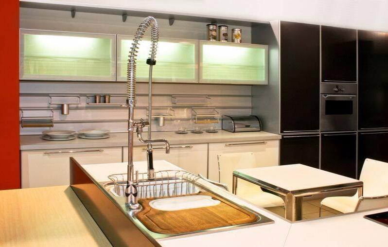 Modern Two Kitchens