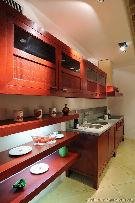 Medium Wood Cabinets for Modern Kitchens