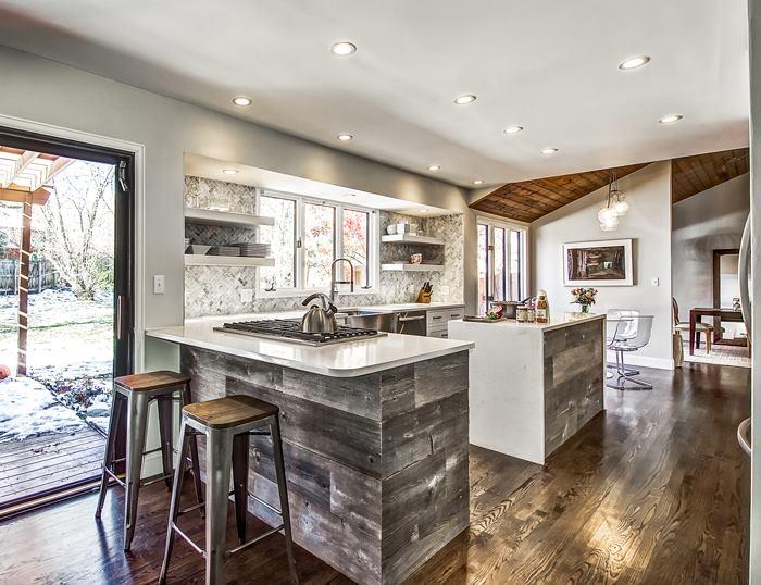 Frosty Carrina Caesarstone Quartz Kitchen Counters
