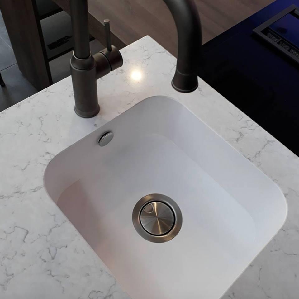 Silestone integrity sink gcw granite countertop warehouse for Silestone sink reviews