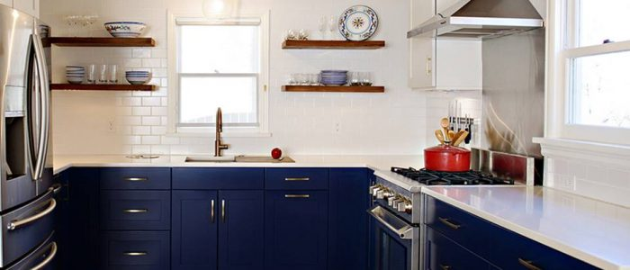 Blue Kitchen Trend in Atlanta