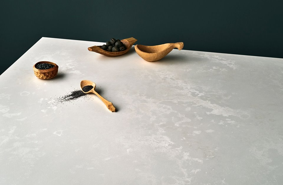 Cloudburst Concrete Brings the Calm Vibe in Kitchens