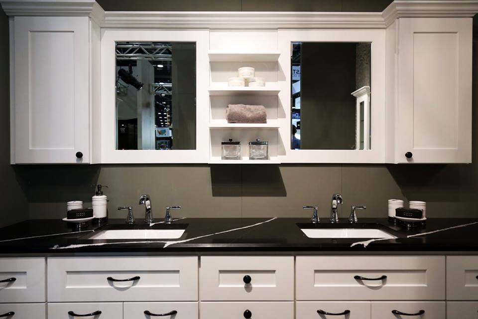 Simplicity and Elegance in a Black and White Kitchen
