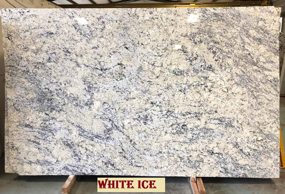 Minimize The Heat In Your Kitchen With White Ice Granite Countertop