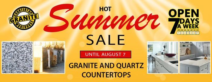 Granite Countertop Warehouse Hot Summer Sale