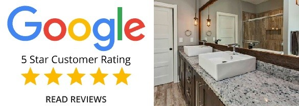 Another Great Review: Granite Countertop Warehouse Delivers Outstanding Service for a Bathroom Project