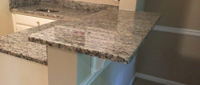 Santa Cecilia Light granite countertop